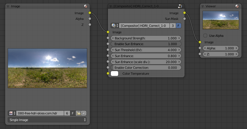 Correct Exposure of HDRI Environment Map in Blender | MeshLogic